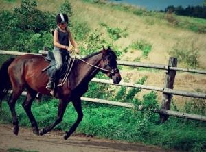 koń-i-dziecko